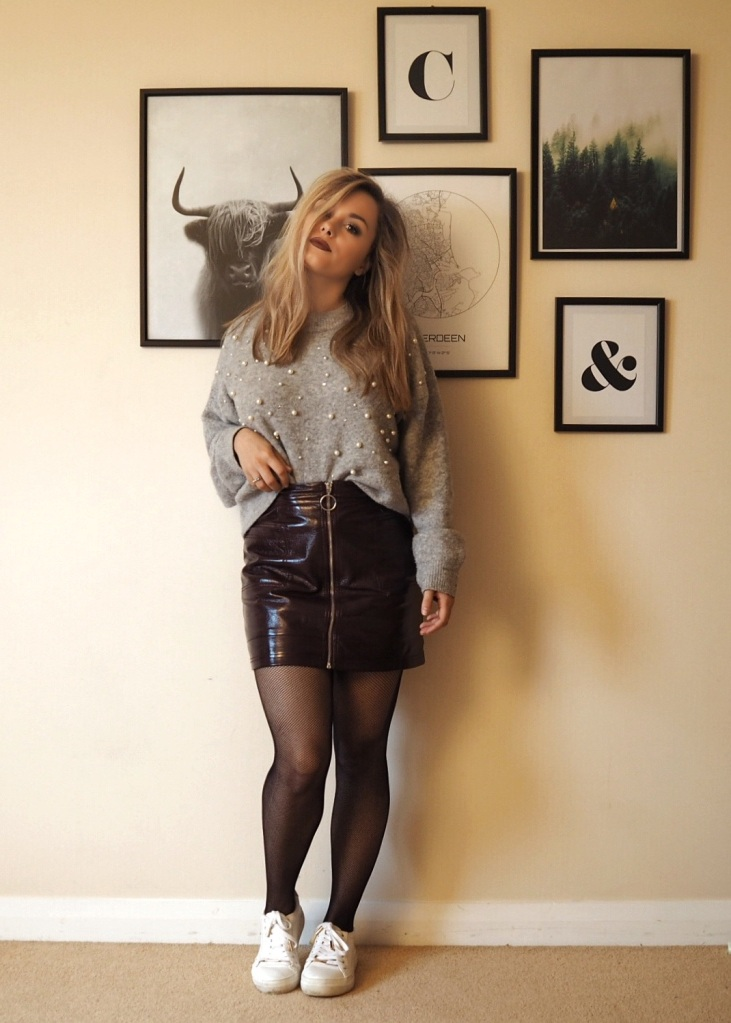 Vinyl skirt 03